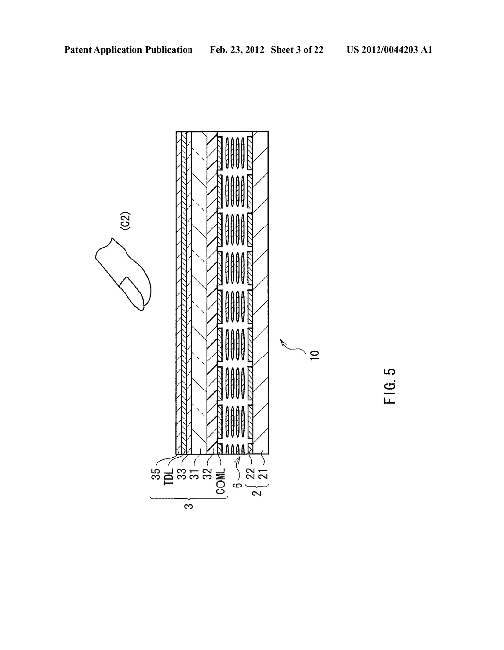 DISPLAY DEVICE WITH TOUCH DETECTION FUNCTION, TOUCH DETECTION DEVICE, AND     ELECTRONIC UNIT - diagram, schematic, and image 04