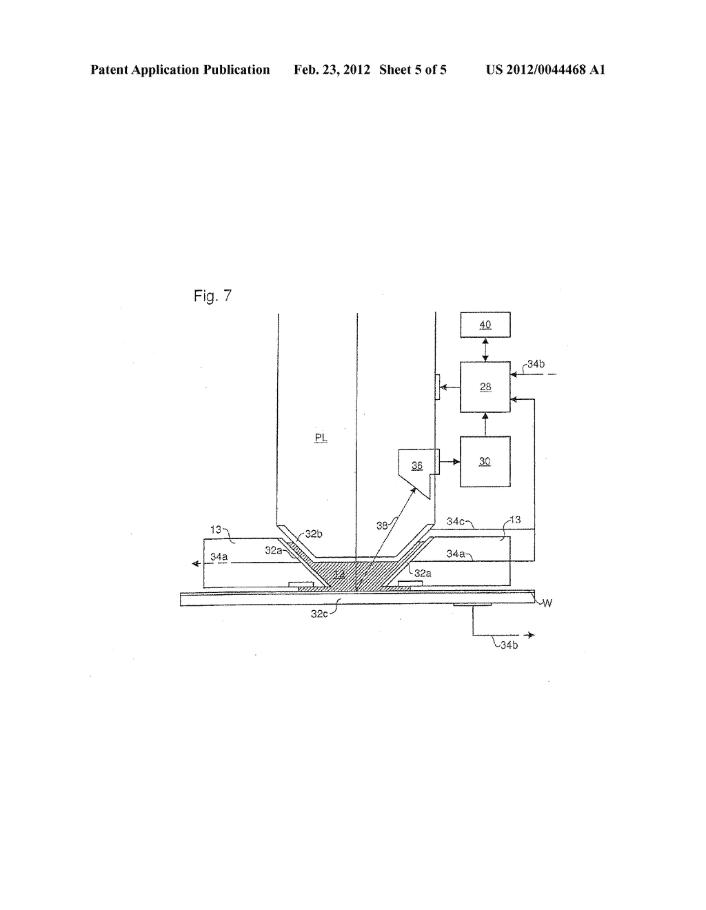 LITHOGRAPHIC APPARATUS AND DEVICE MANUFACTURING METHOD - diagram, schematic, and image 06