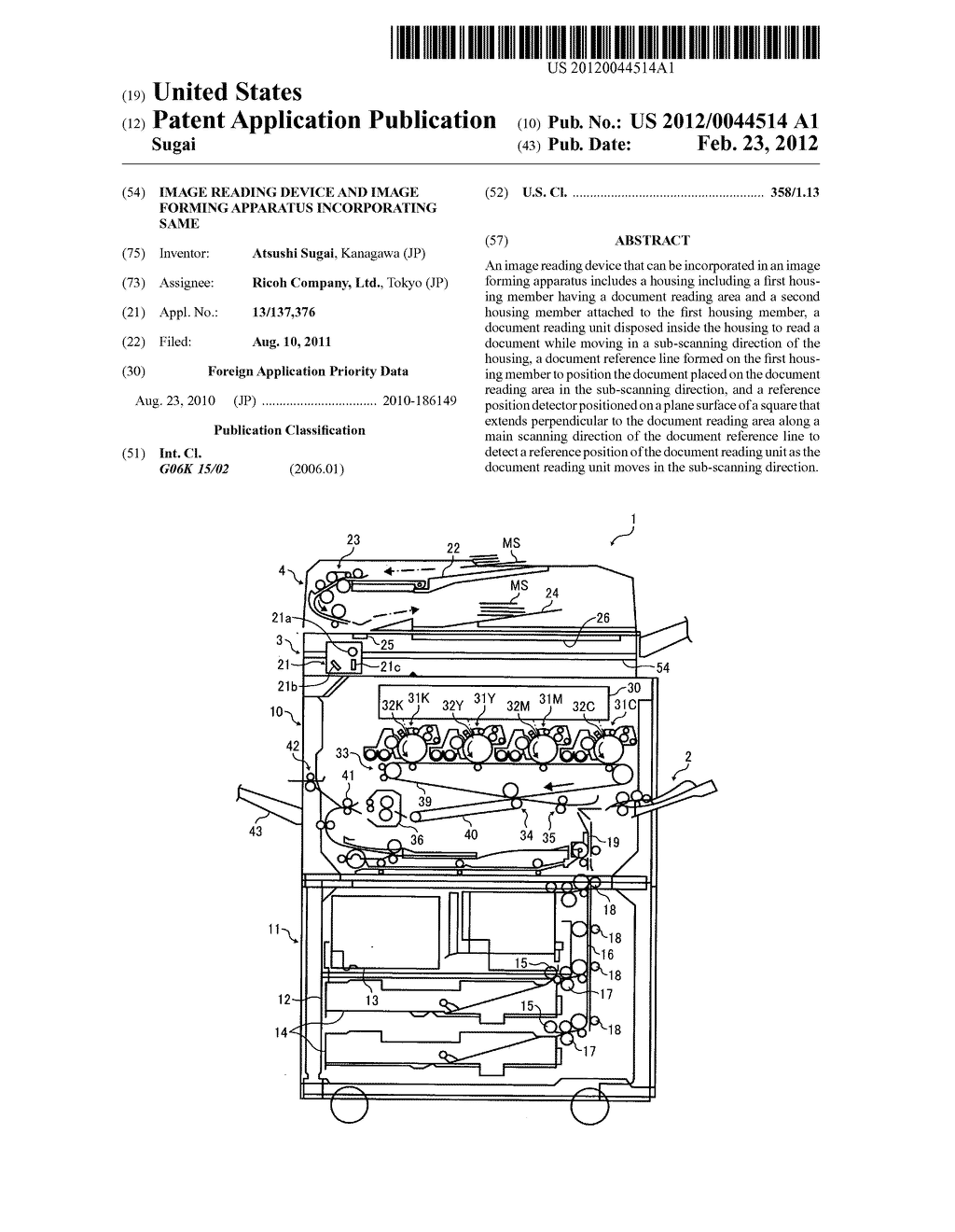 Image reading device and image forming apparatus incorporating same - diagram, schematic, and image 01