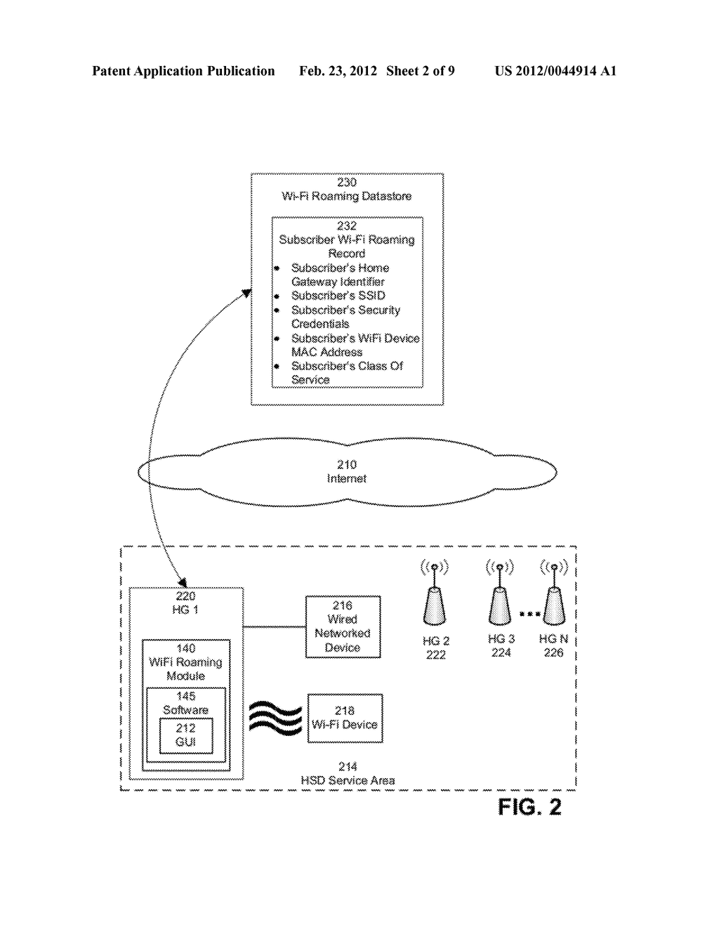 SYSTEM AND METHOD FOR WI-FI ROAMING - diagram, schematic, and image 03