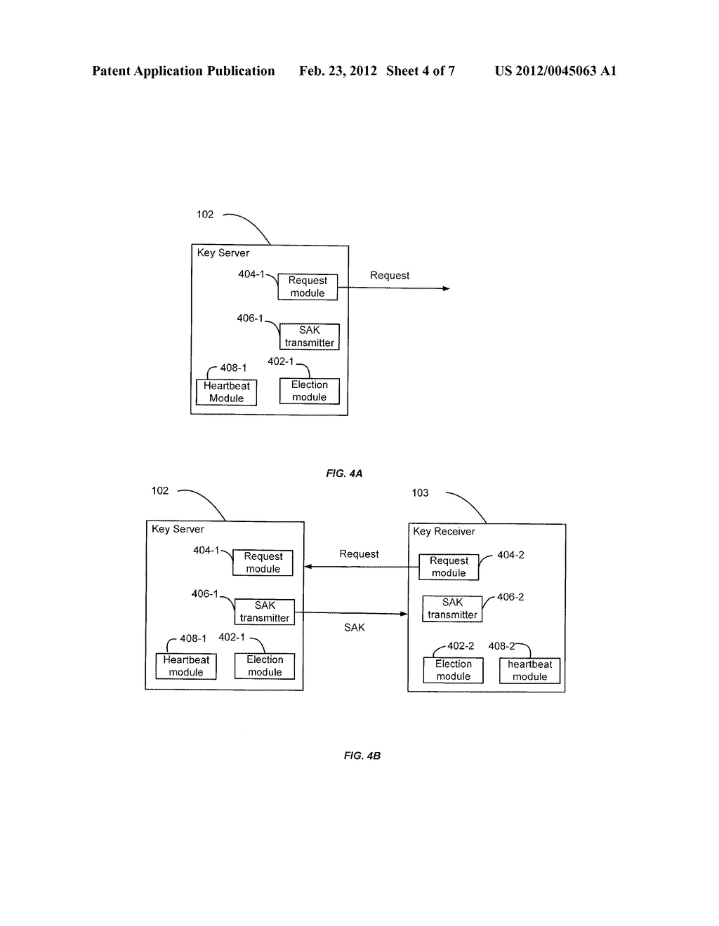 Techniques for Managing Keys Using a Key Server in a Network Segment - diagram, schematic, and image 05