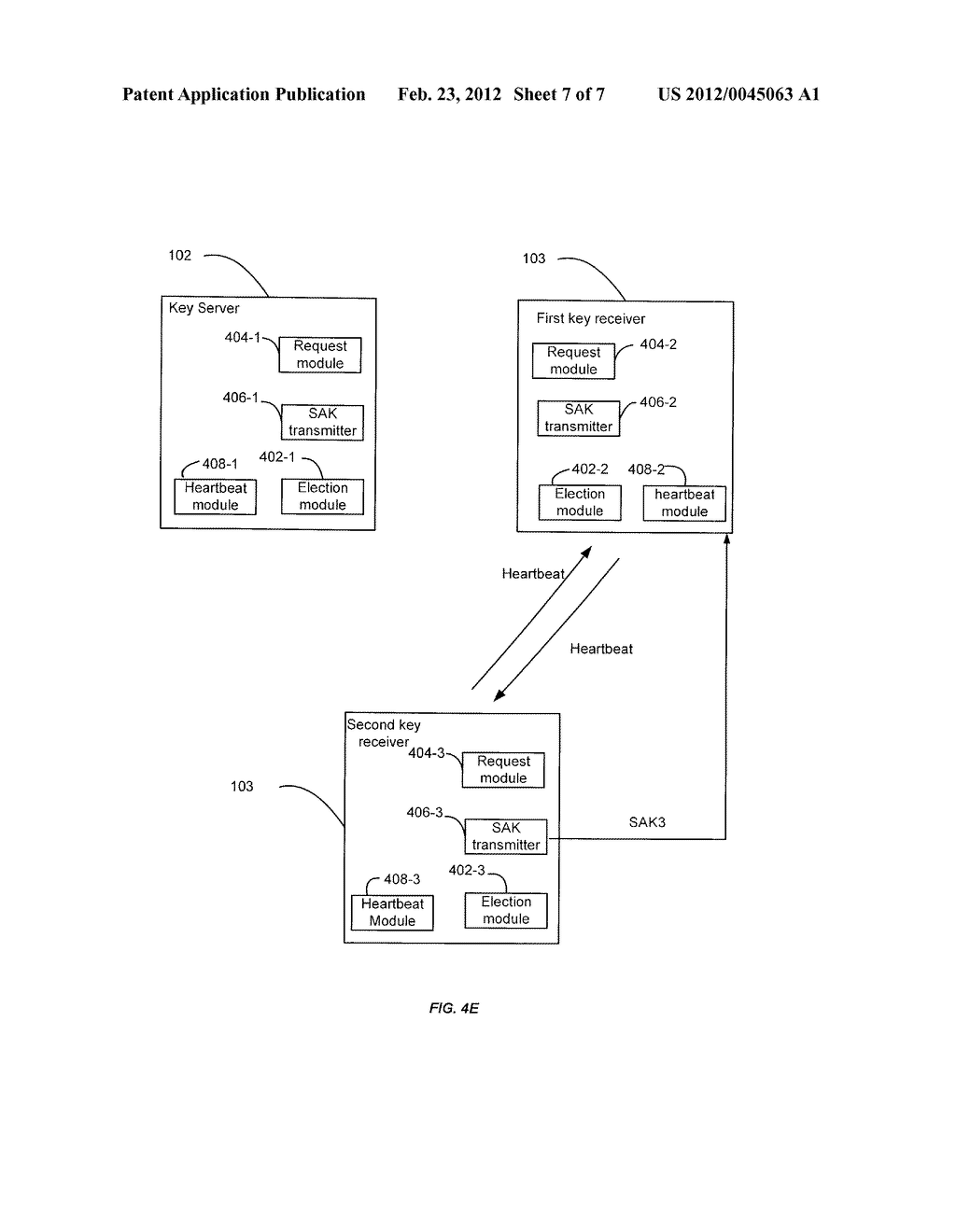 Techniques for Managing Keys Using a Key Server in a Network Segment - diagram, schematic, and image 08