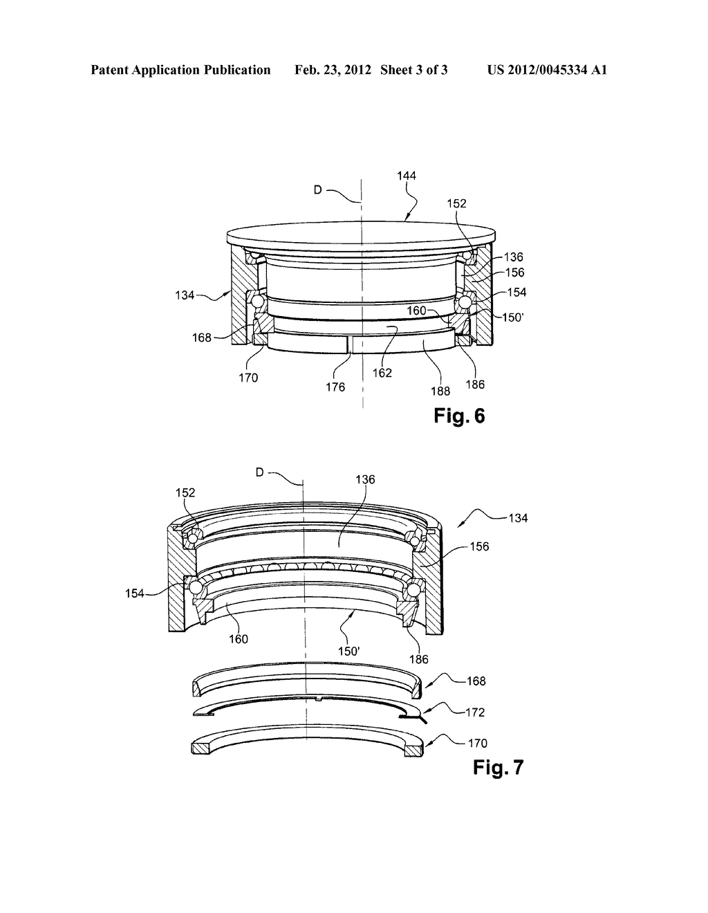 UNDUCTED FAN WITH VARIABLE-PITCH BLADES FOR A TURBINE ENGINE - diagram,  schematic, and image 04