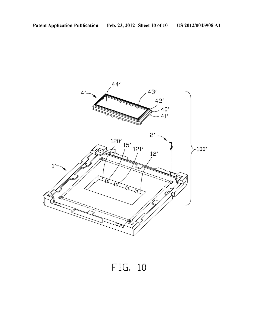 ELECTRICAL CONNECTOR HAVING METALLIC CAGE SHROUDING EMI FROM