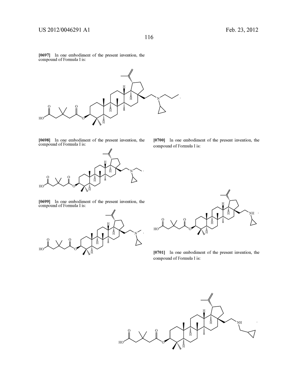 Extended Triterpene Derivatives - diagram, schematic, and image 116