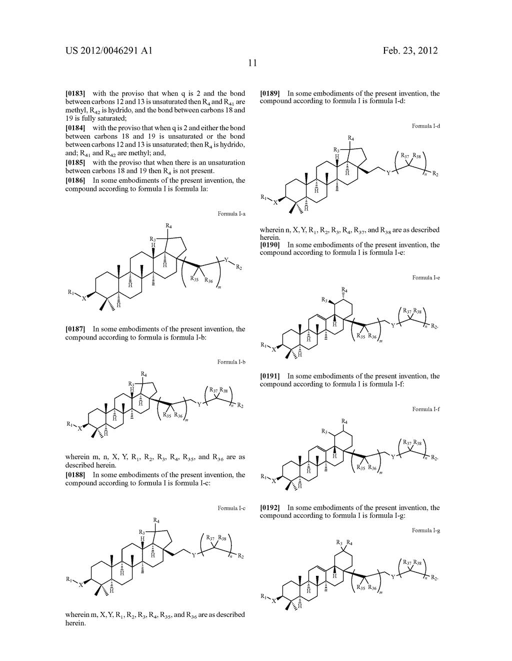 Extended Triterpene Derivatives - diagram, schematic, and image 13
