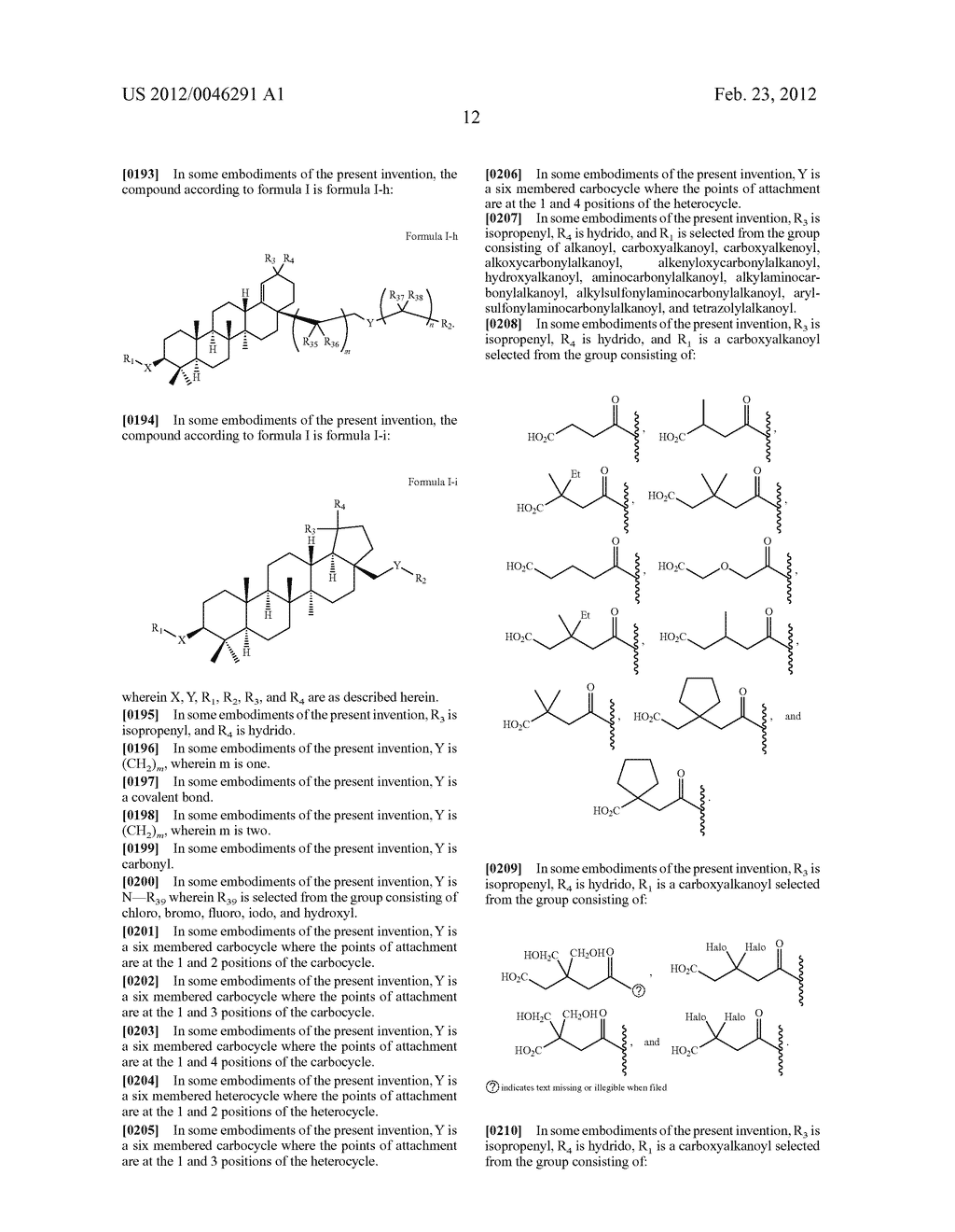 Extended Triterpene Derivatives - diagram, schematic, and image 14