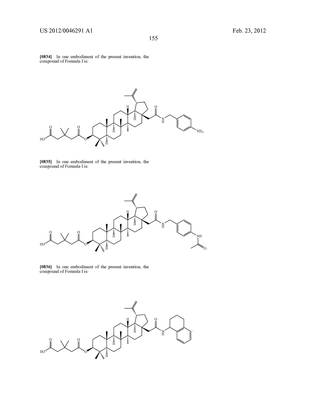 Extended Triterpene Derivatives - diagram, schematic, and image 155