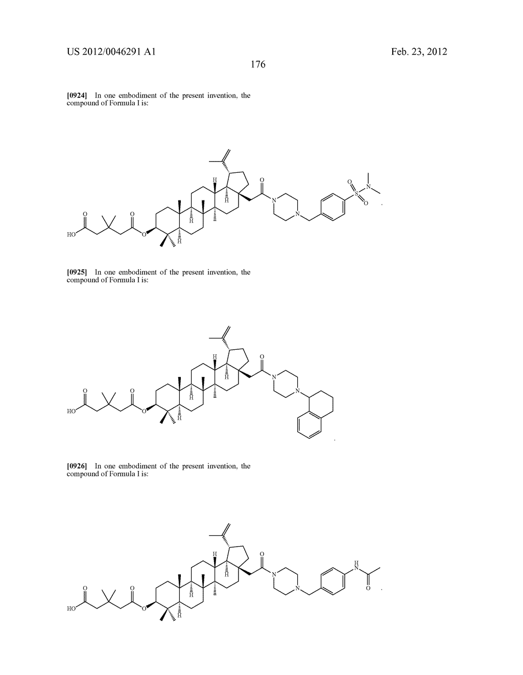 Extended Triterpene Derivatives - diagram, schematic, and image 176