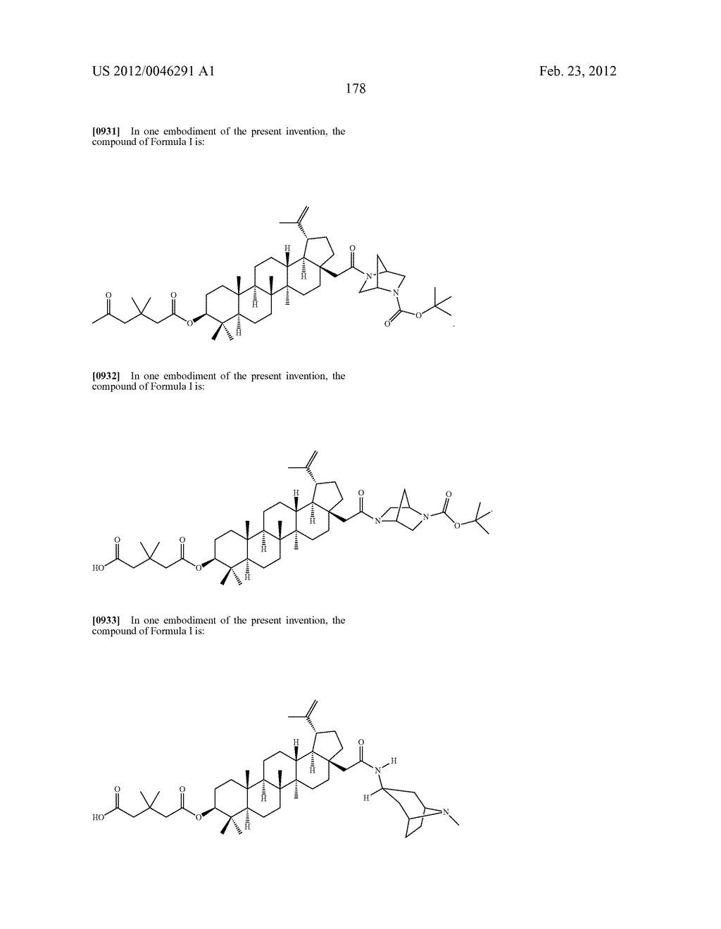 Extended Triterpene Derivatives - diagram, schematic, and image 178