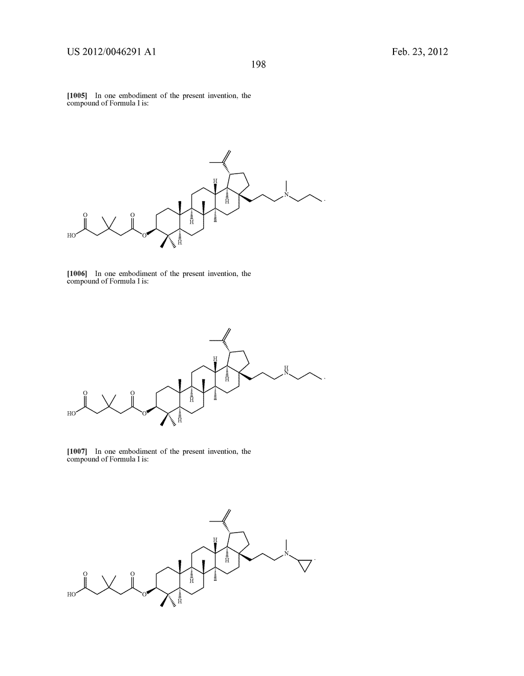 Extended Triterpene Derivatives - diagram, schematic, and image 198