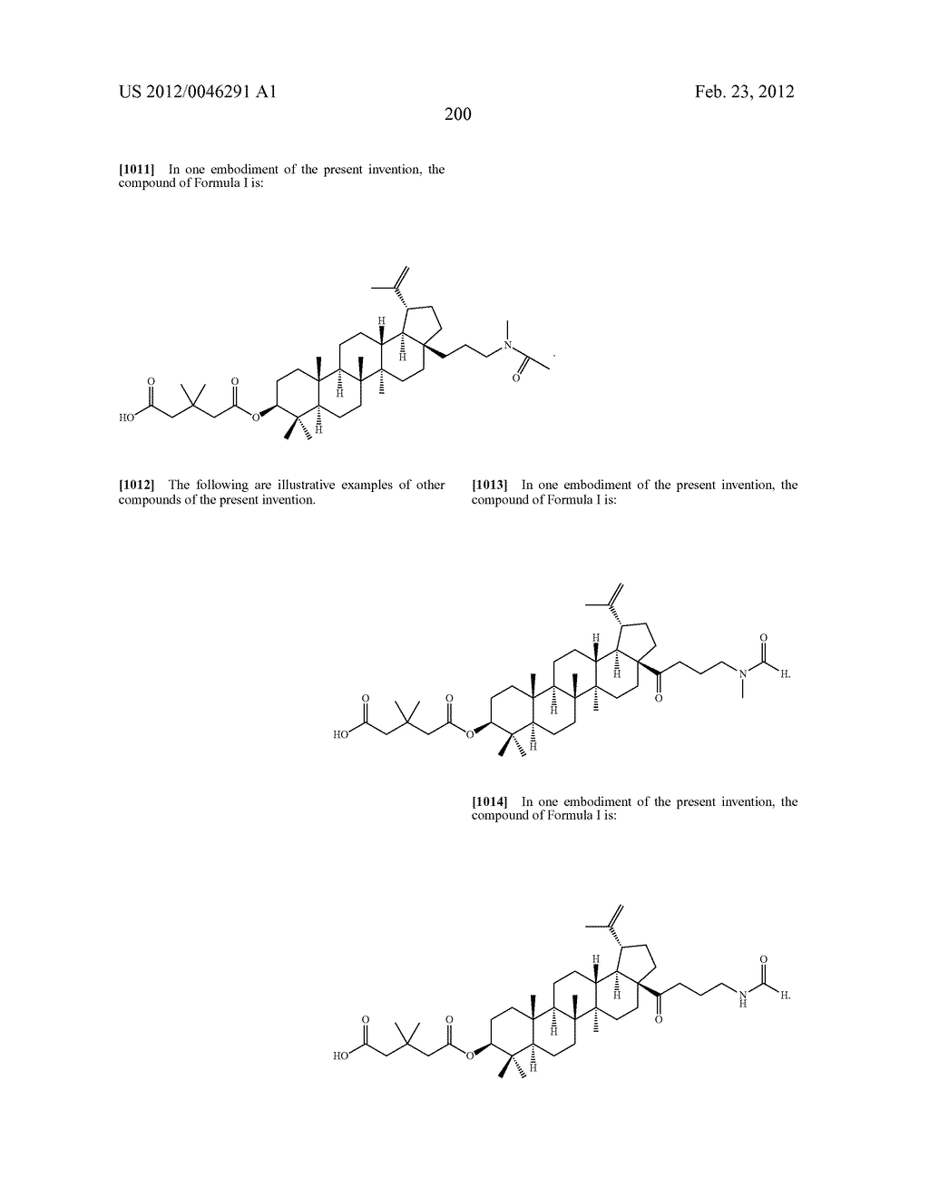 Extended Triterpene Derivatives - diagram, schematic, and image 200