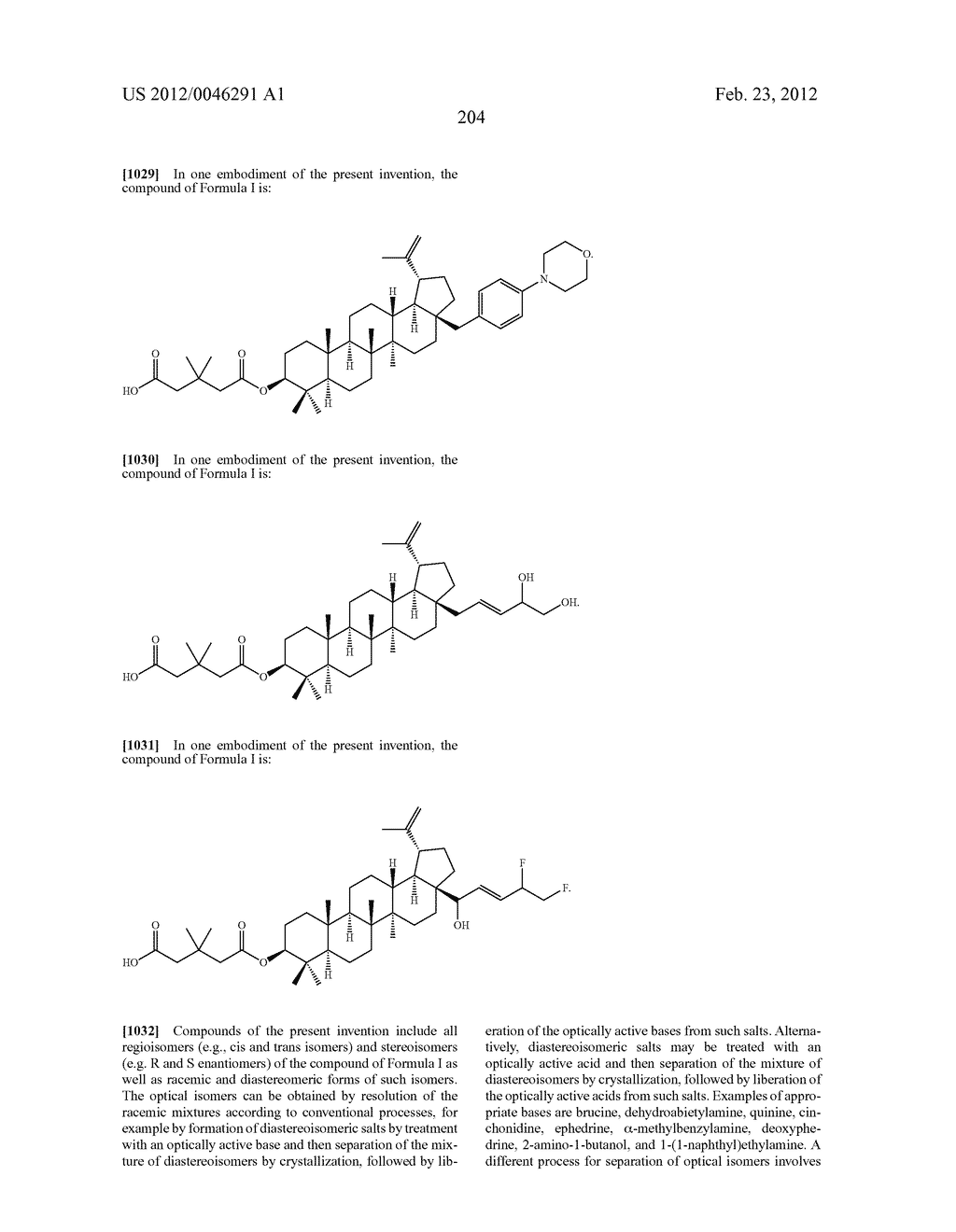 Extended Triterpene Derivatives - diagram, schematic, and image 204