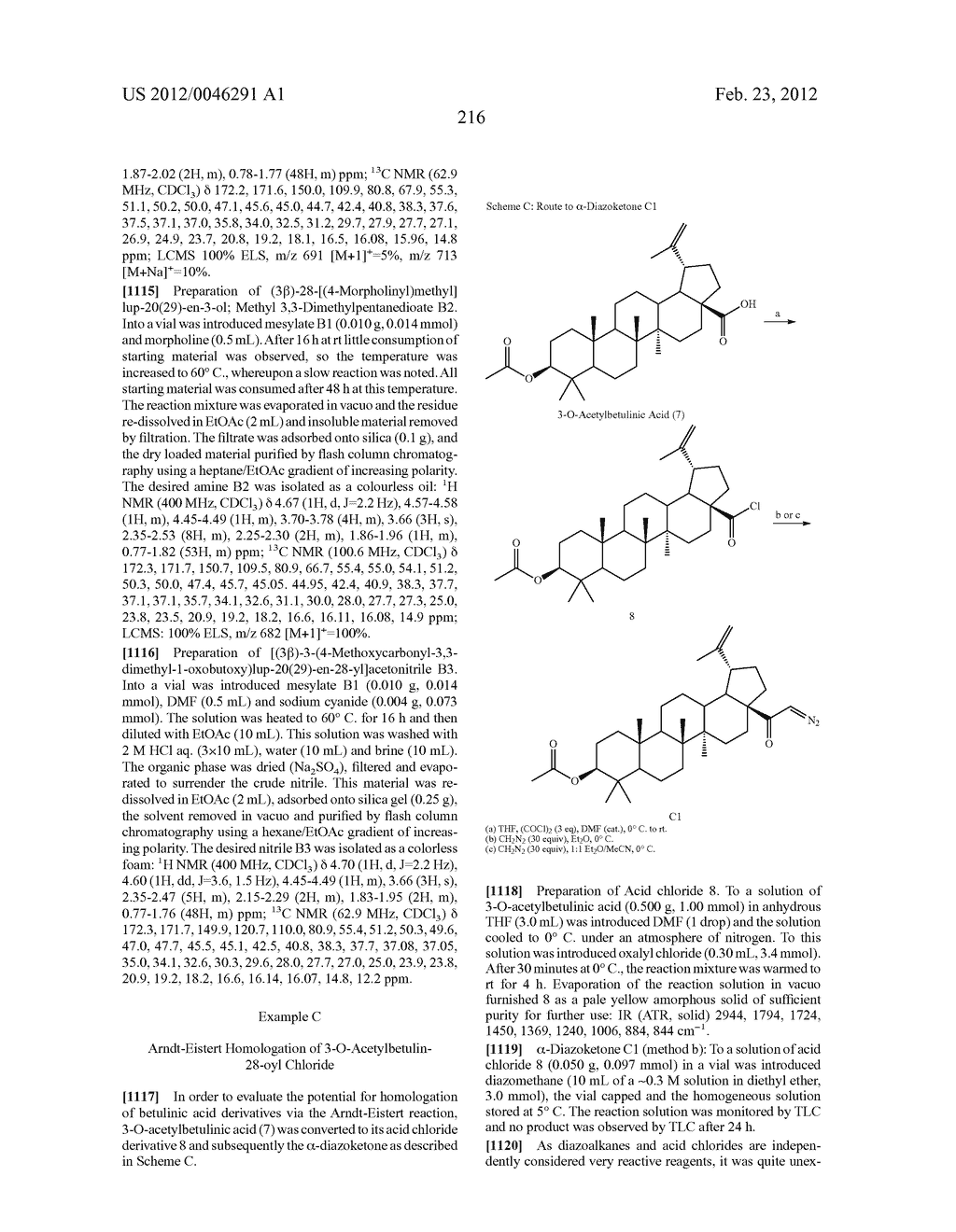 Extended Triterpene Derivatives - diagram, schematic, and image 216