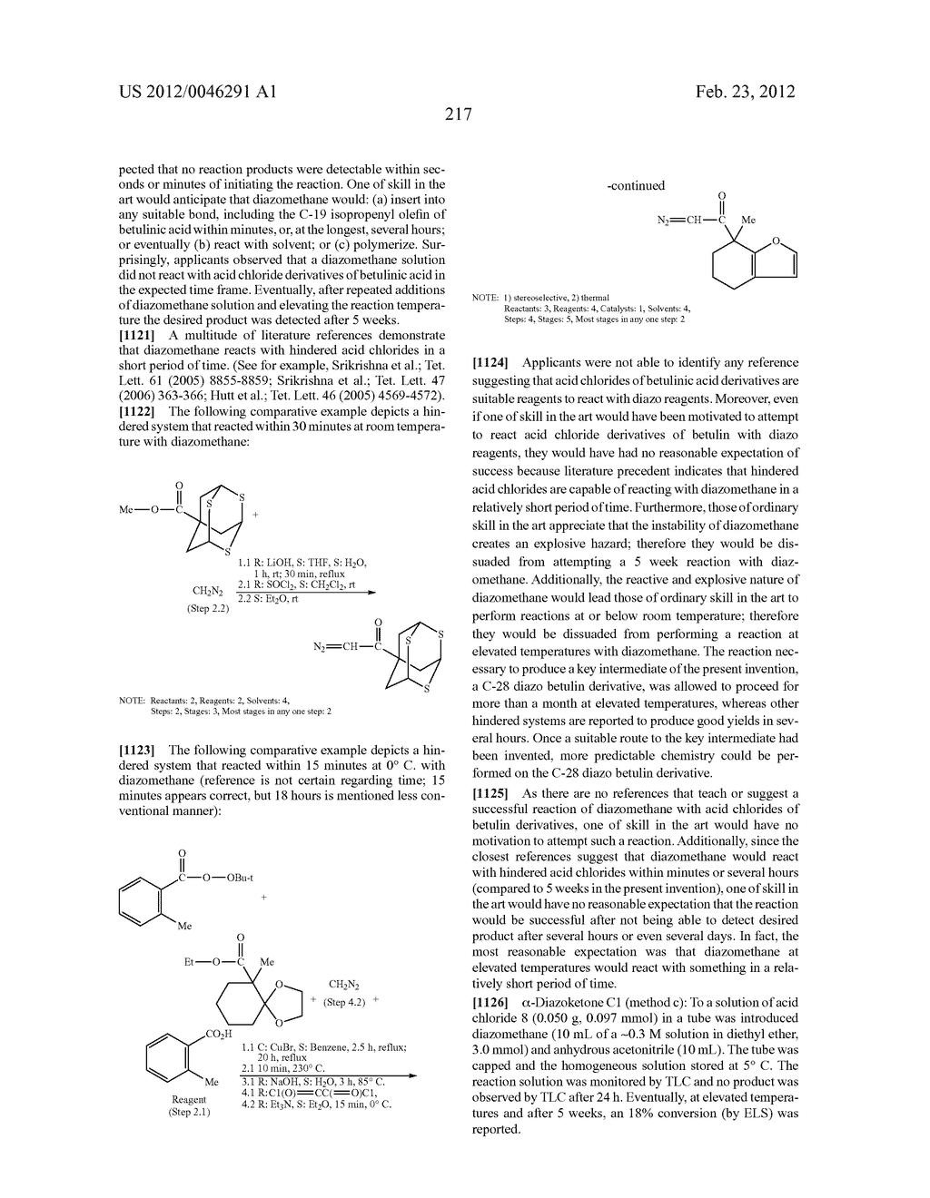 Extended Triterpene Derivatives - diagram, schematic, and image 217