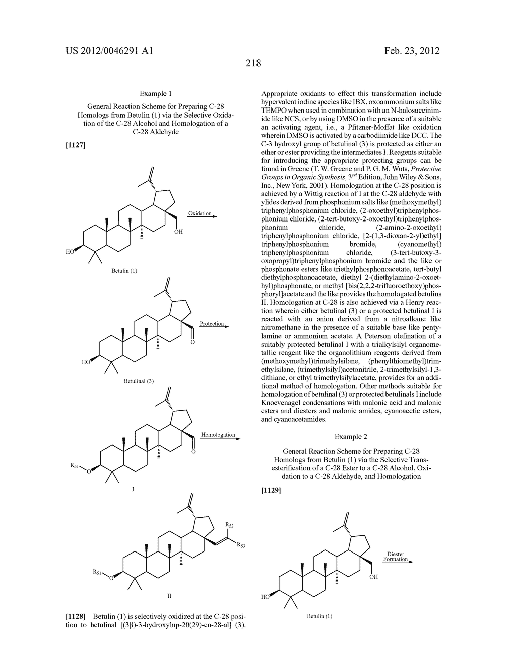 Extended Triterpene Derivatives - diagram, schematic, and image 218