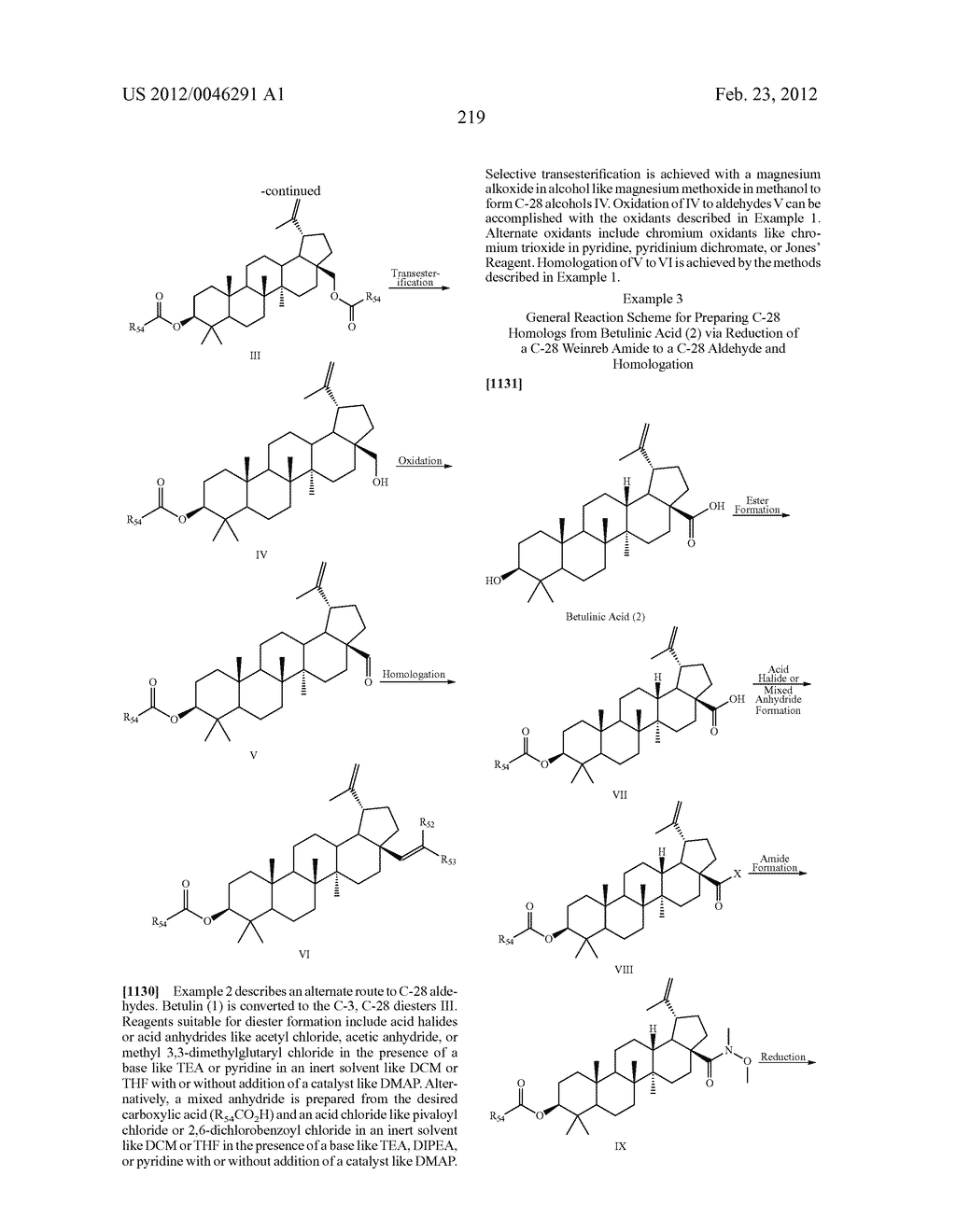 Extended Triterpene Derivatives - diagram, schematic, and image 219
