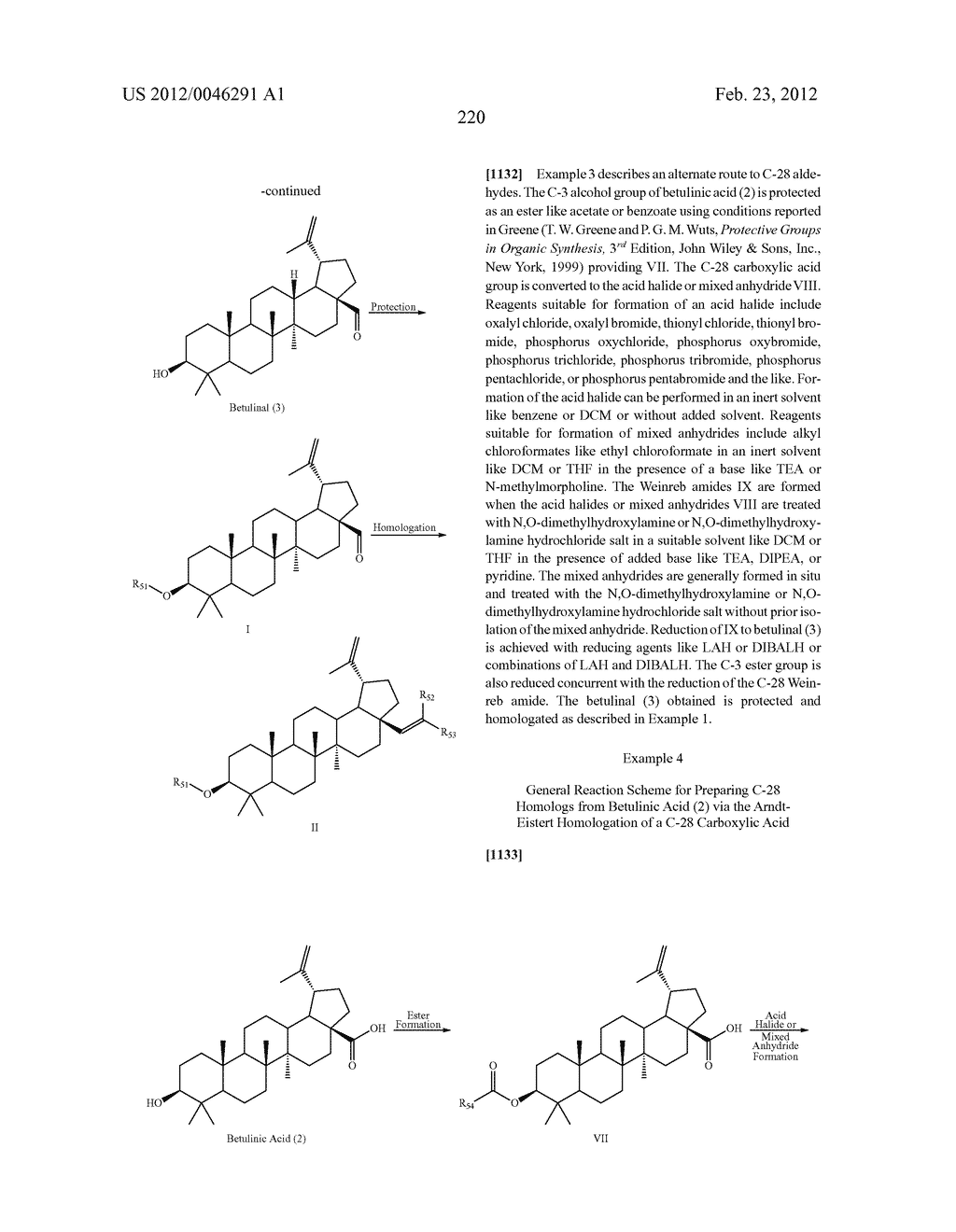 Extended Triterpene Derivatives - diagram, schematic, and image 220