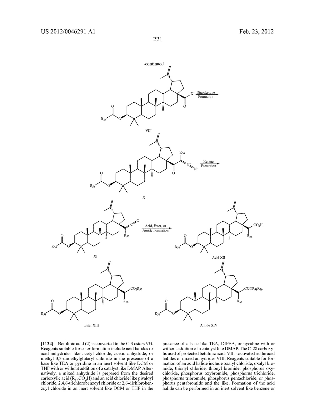 Extended Triterpene Derivatives - diagram, schematic, and image 221