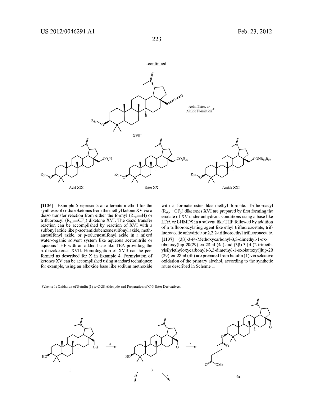 Extended Triterpene Derivatives - diagram, schematic, and image 223