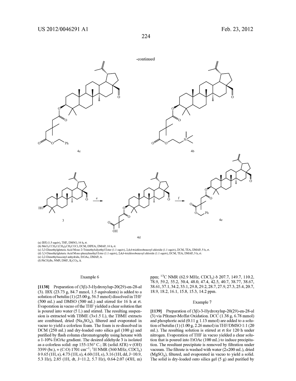 Extended Triterpene Derivatives - diagram, schematic, and image 224