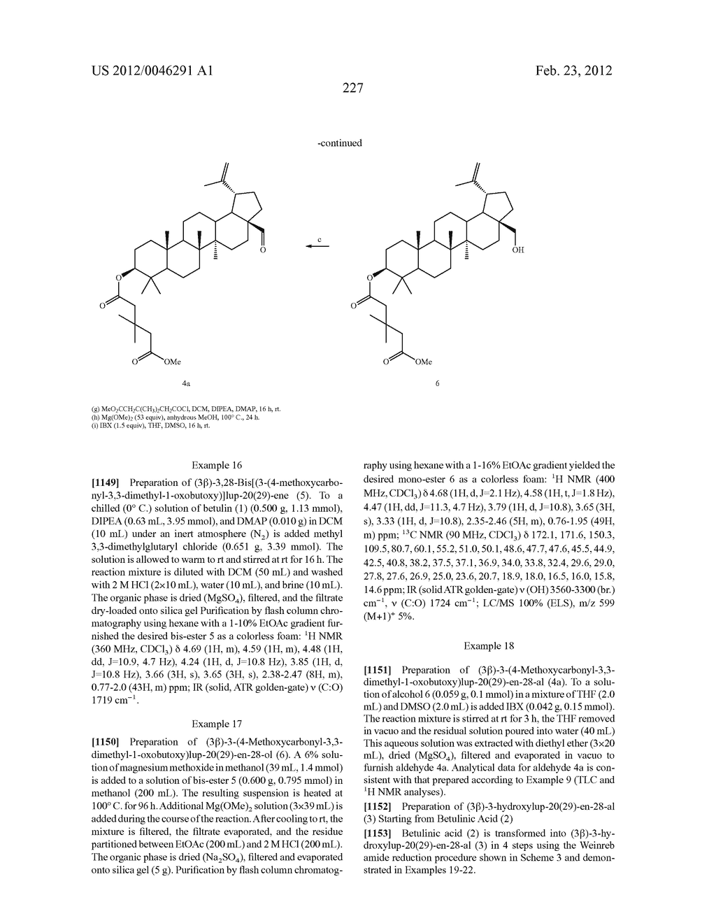 Extended Triterpene Derivatives - diagram, schematic, and image 227