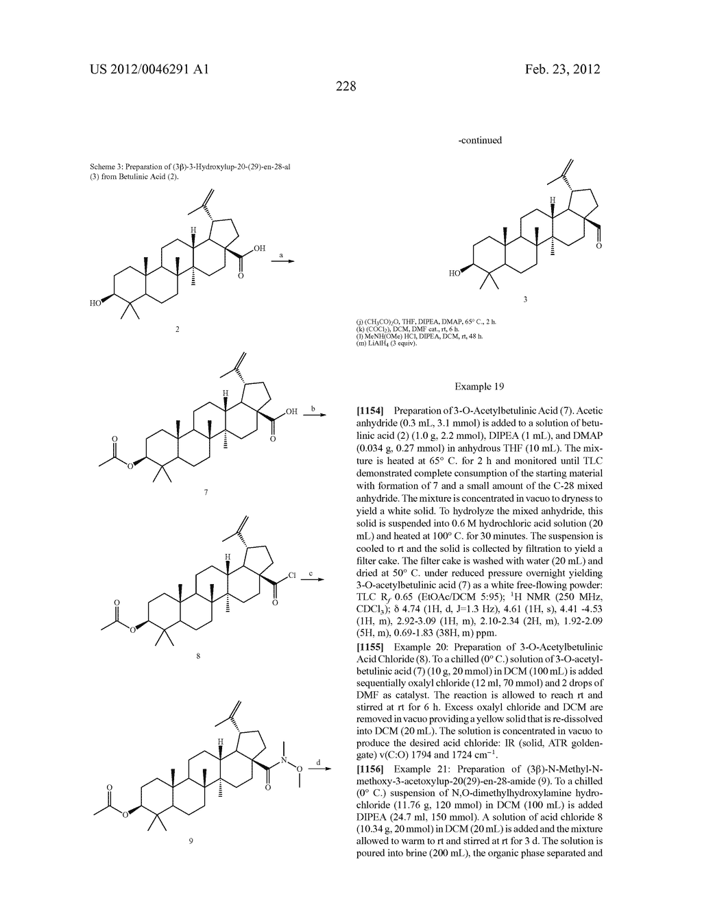 Extended Triterpene Derivatives - diagram, schematic, and image 228