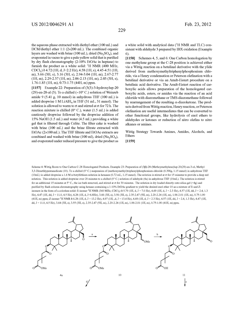 Extended Triterpene Derivatives - diagram, schematic, and image 229