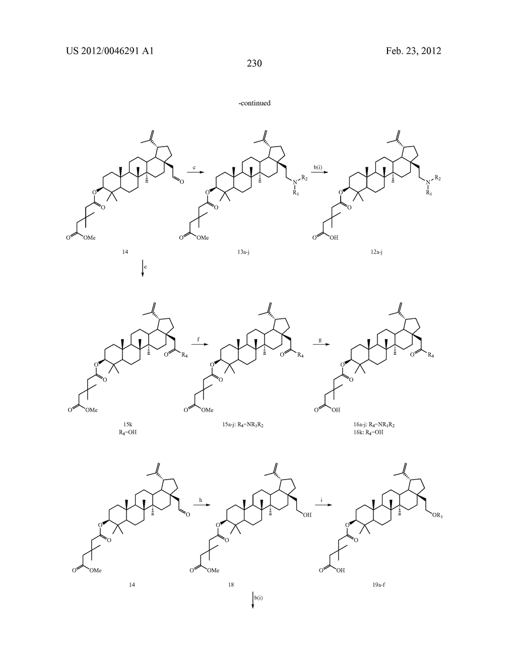 Extended Triterpene Derivatives - diagram, schematic, and image 230