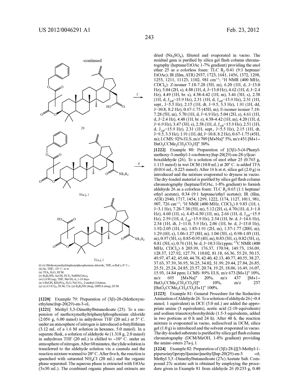 Extended Triterpene Derivatives - diagram, schematic, and image 243