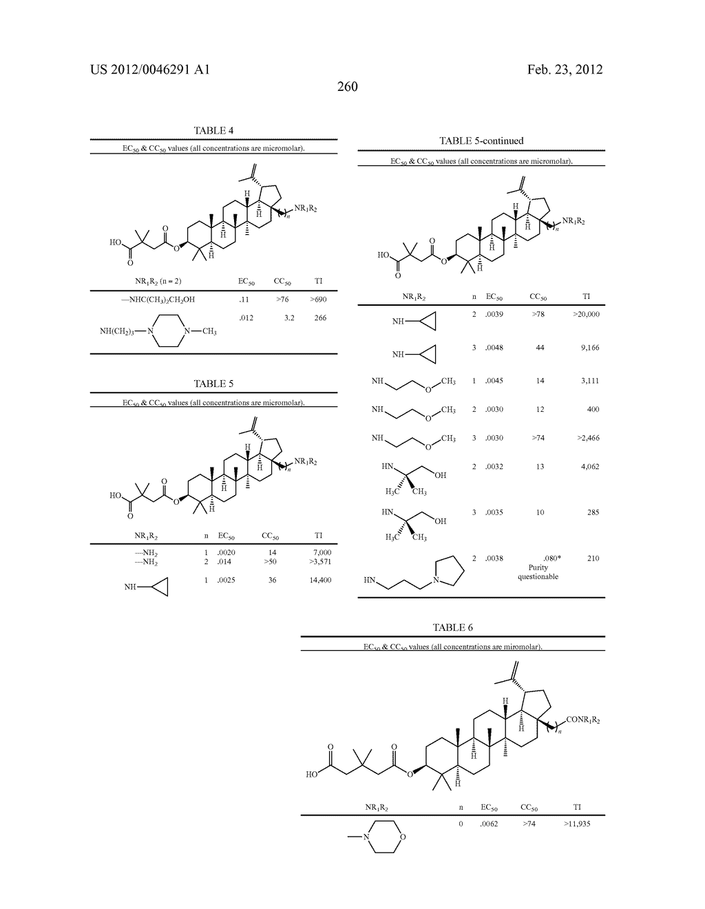 Extended Triterpene Derivatives - diagram, schematic, and image 260