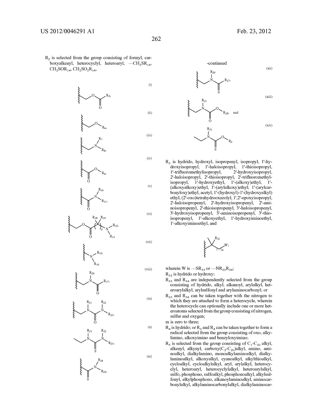 Extended Triterpene Derivatives - diagram, schematic, and image 262