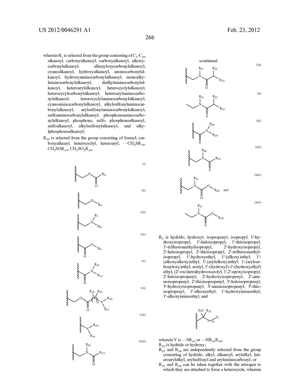 Extended Triterpene Derivatives - diagram, schematic, and image 266