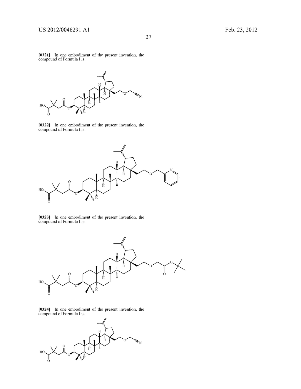 Extended Triterpene Derivatives - diagram, schematic, and image 29