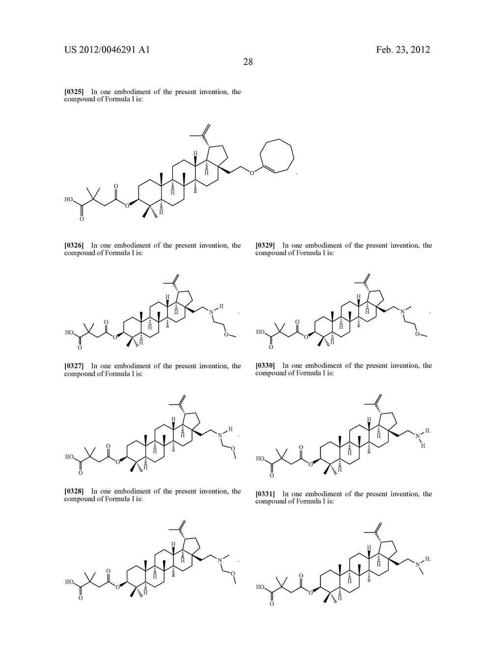 Extended Triterpene Derivatives - diagram, schematic, and image 30