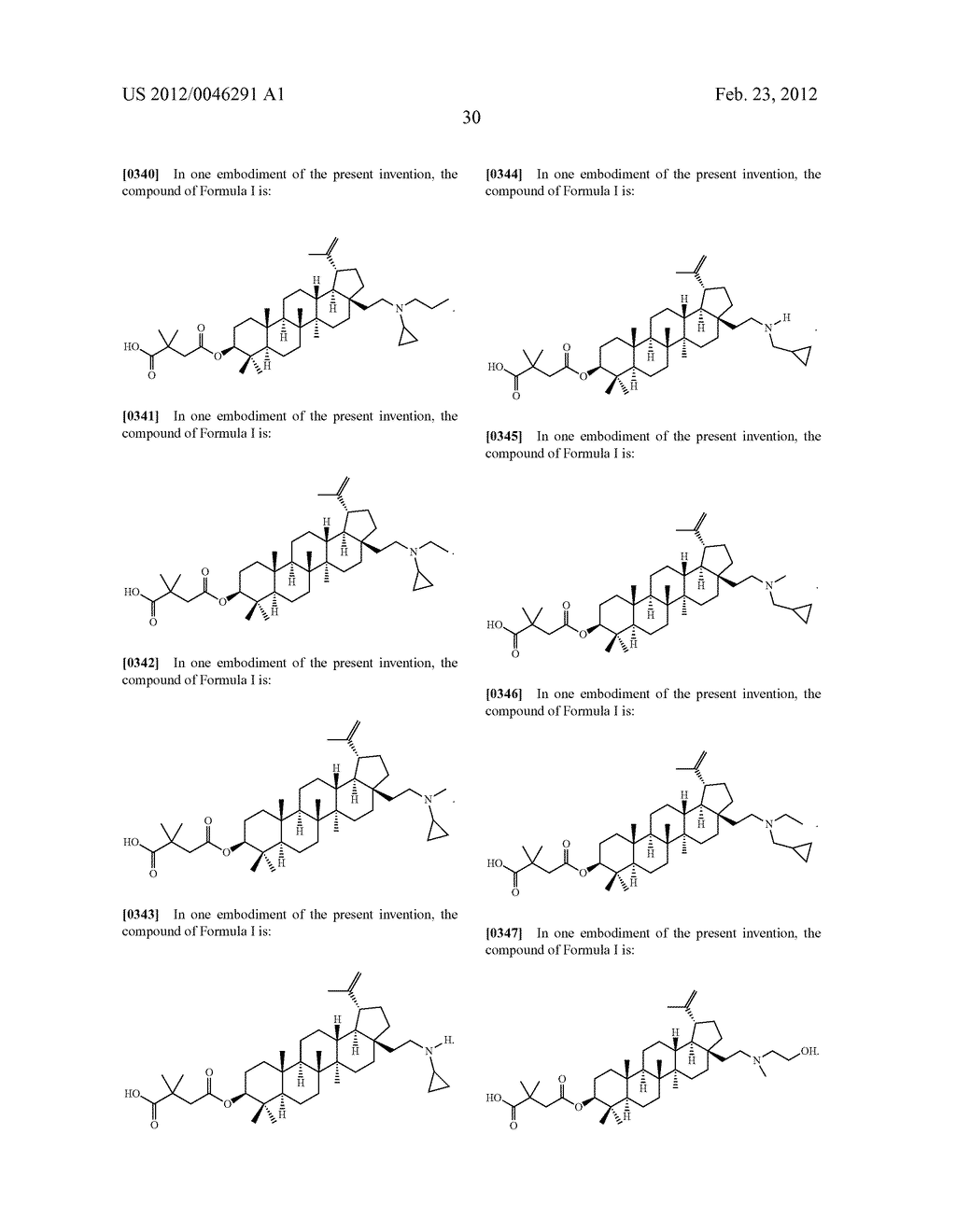 Extended Triterpene Derivatives - diagram, schematic, and image 32