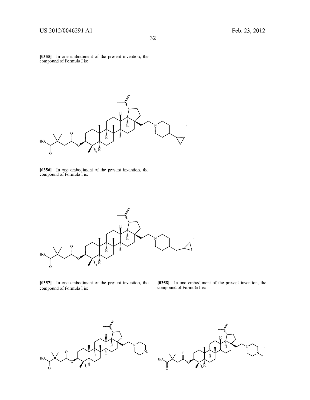 Extended Triterpene Derivatives - diagram, schematic, and image 34