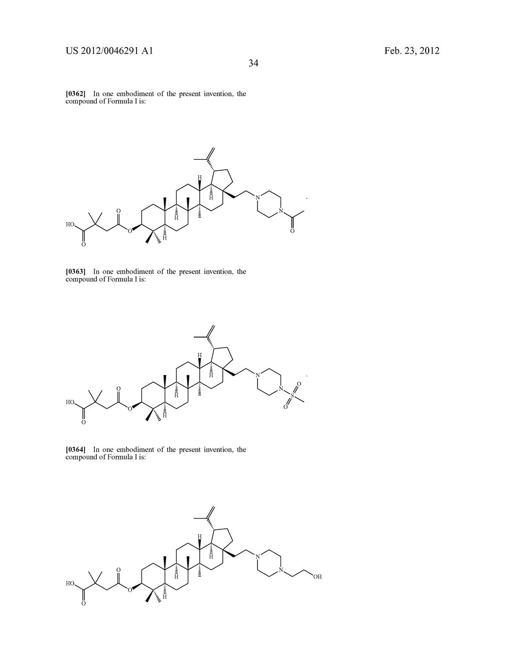 Extended Triterpene Derivatives - diagram, schematic, and image 36