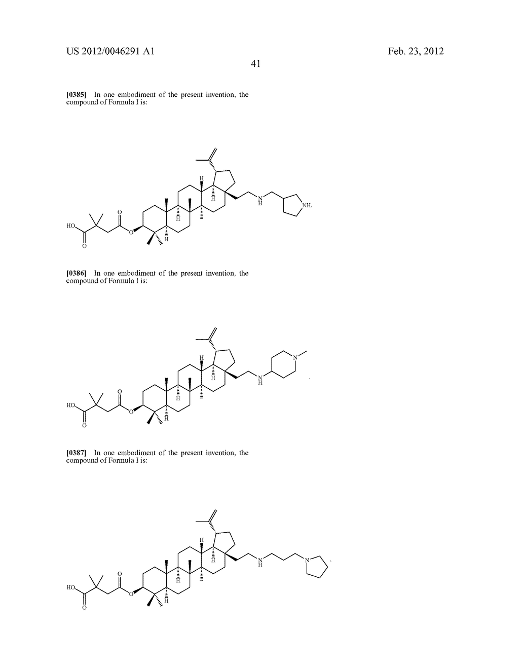 Extended Triterpene Derivatives - diagram, schematic, and image 43