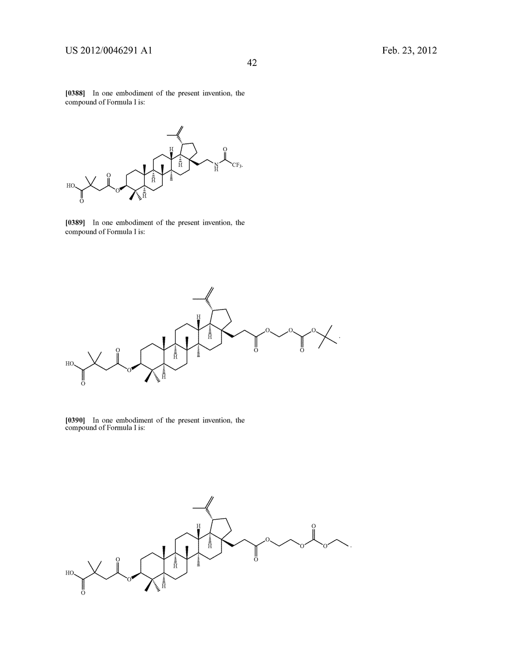 Extended Triterpene Derivatives - diagram, schematic, and image 44