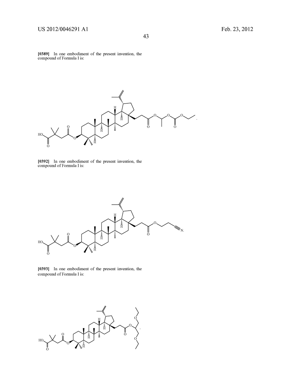 Extended Triterpene Derivatives - diagram, schematic, and image 45