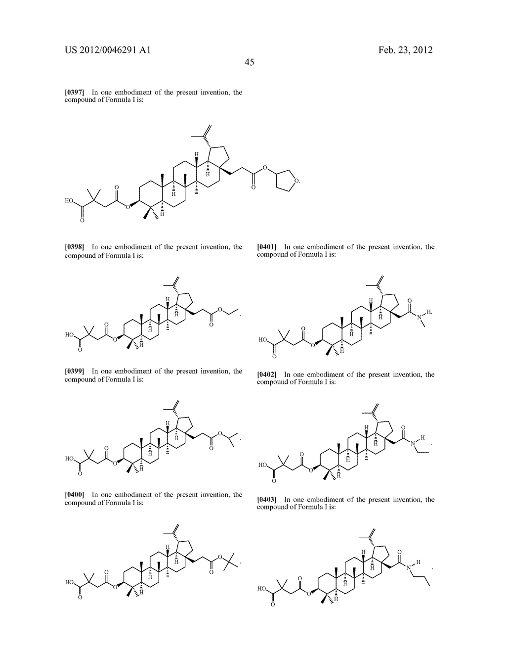 Extended Triterpene Derivatives - diagram, schematic, and image 47