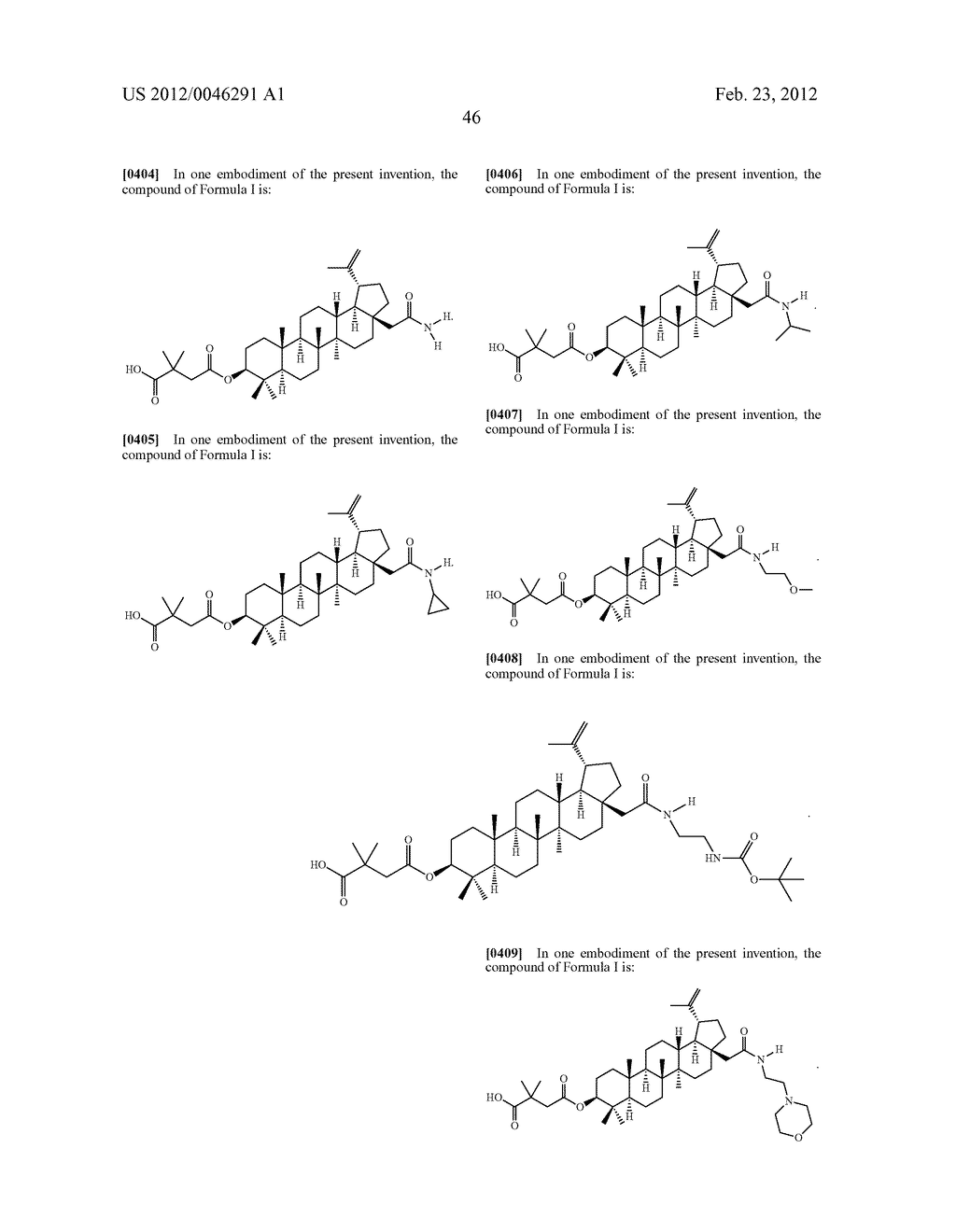 Extended Triterpene Derivatives - diagram, schematic, and image 48