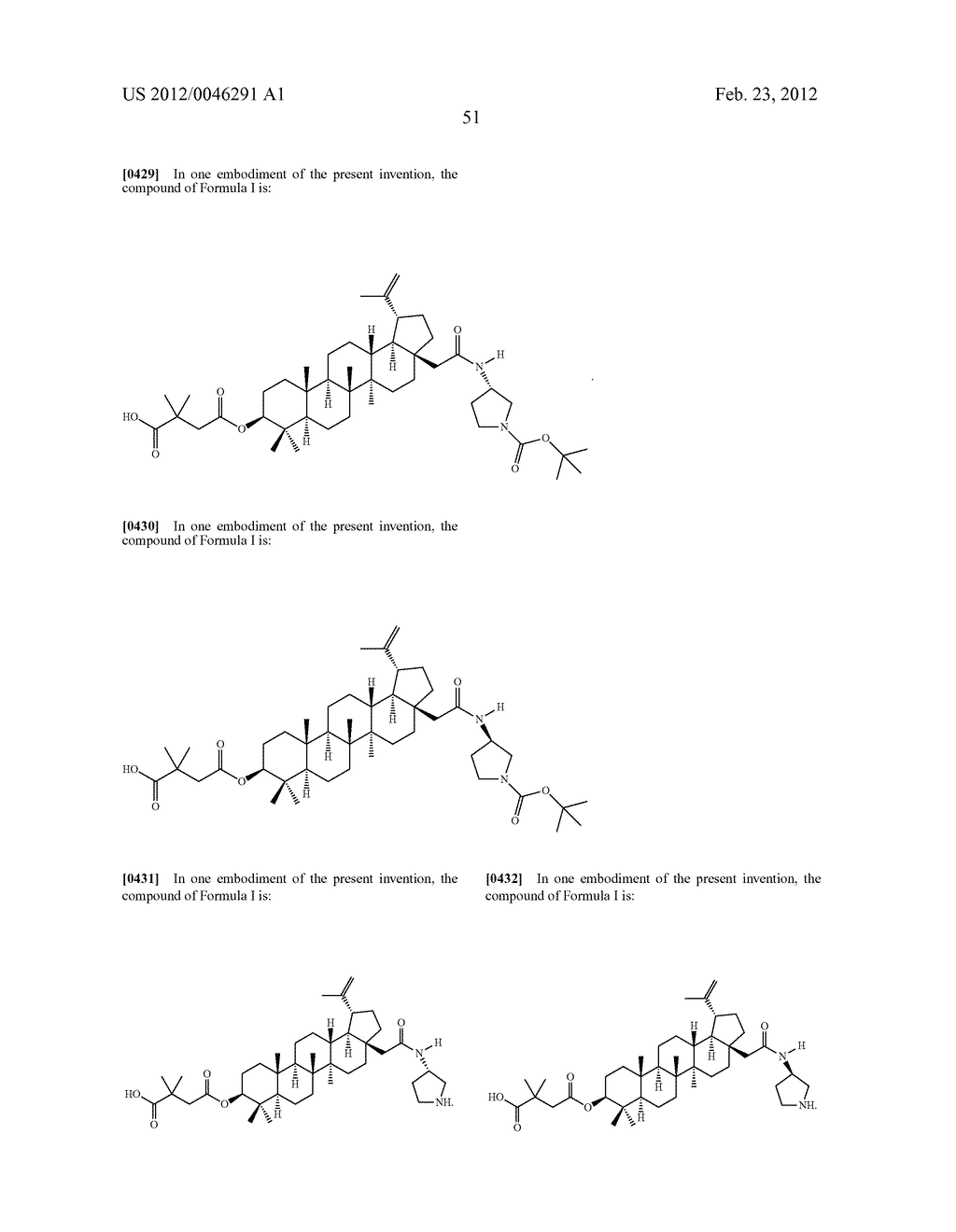 Extended Triterpene Derivatives - diagram, schematic, and image 53