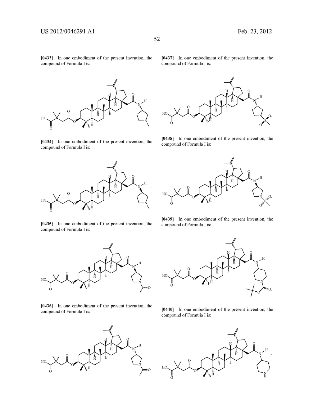 Extended Triterpene Derivatives - diagram, schematic, and image 54