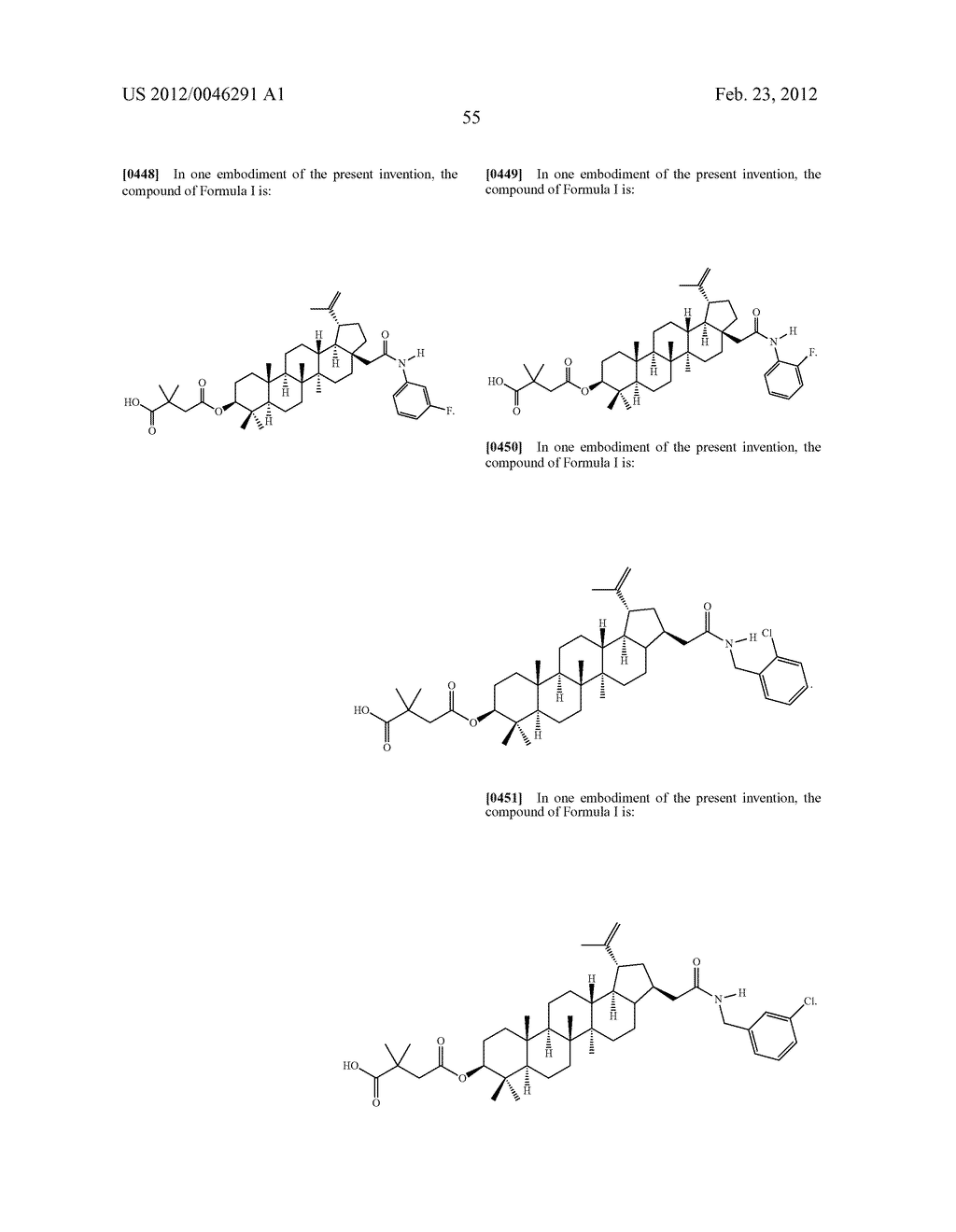 Extended Triterpene Derivatives - diagram, schematic, and image 57