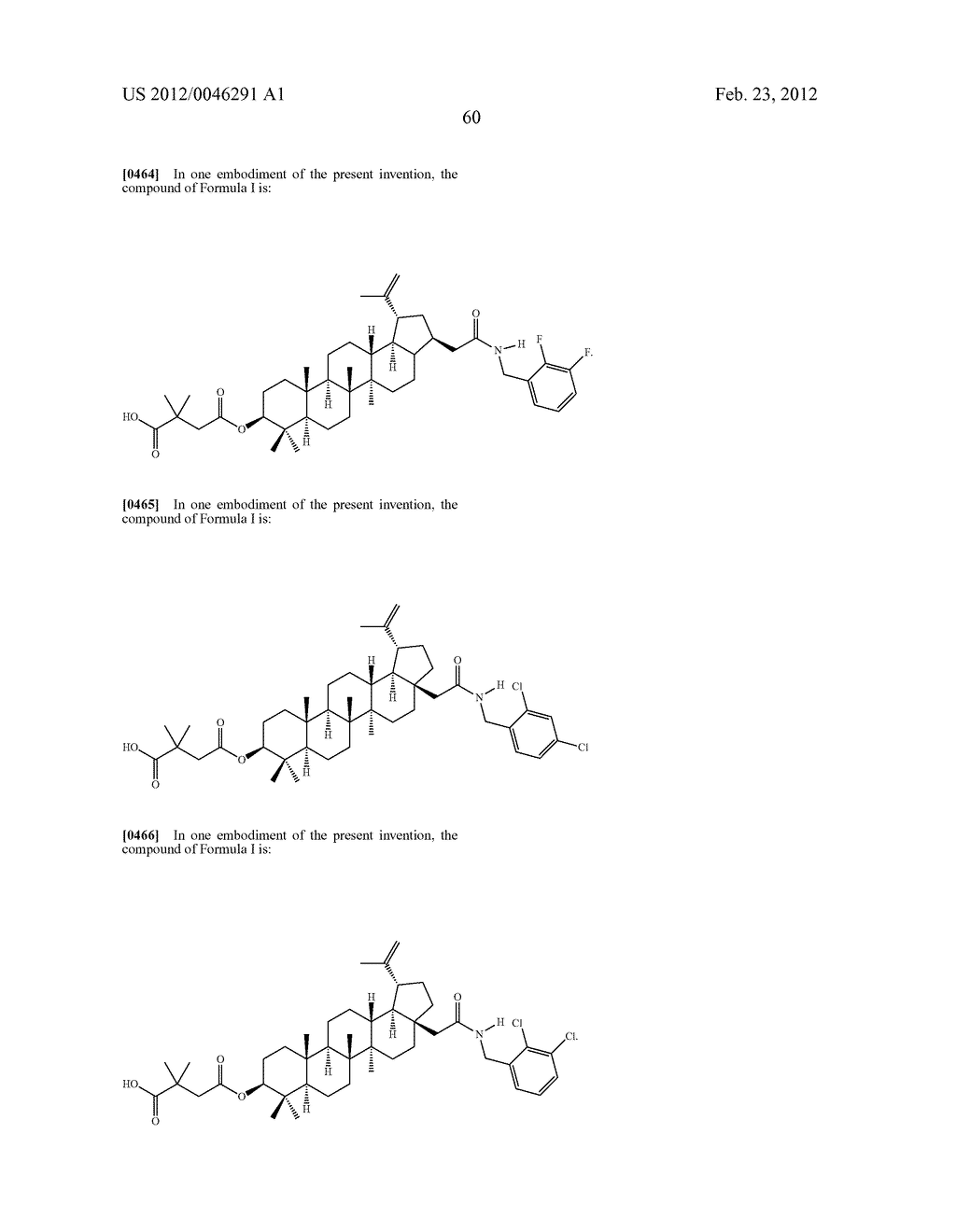 Extended Triterpene Derivatives - diagram, schematic, and image 62