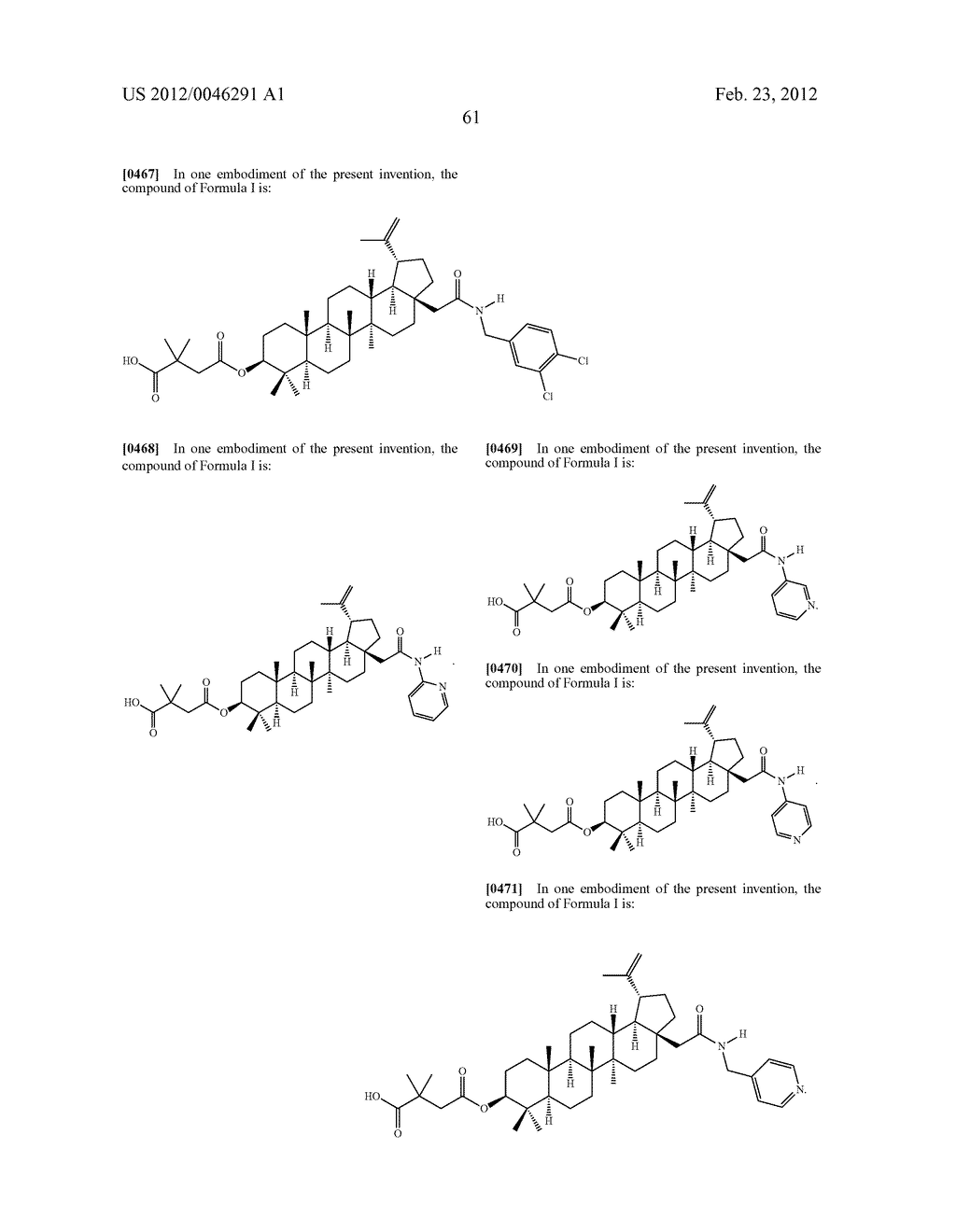 Extended Triterpene Derivatives - diagram, schematic, and image 63