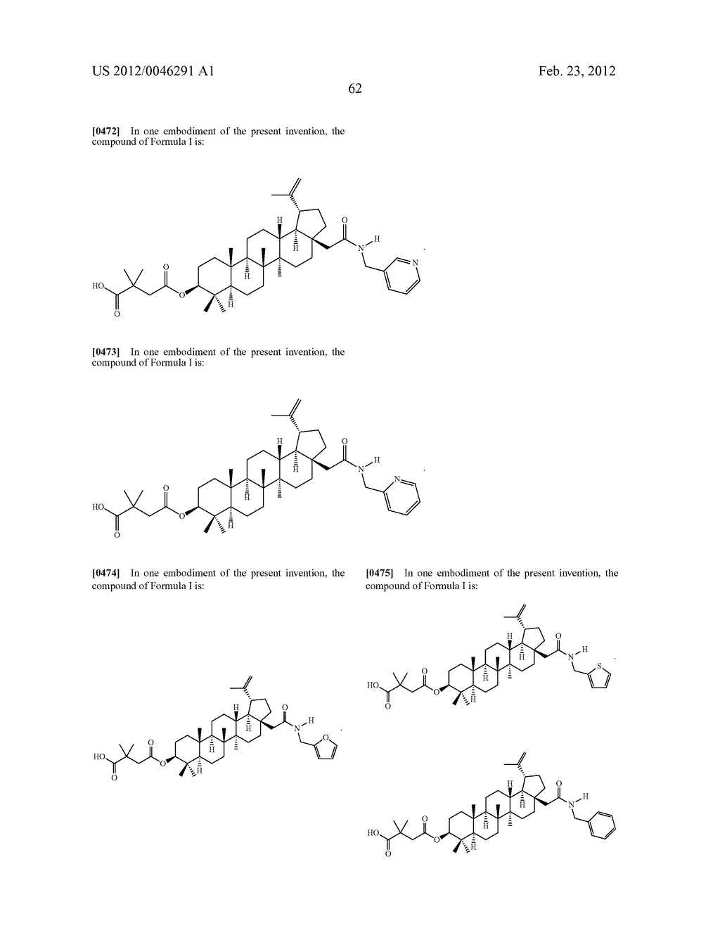 Extended Triterpene Derivatives - diagram, schematic, and image 64