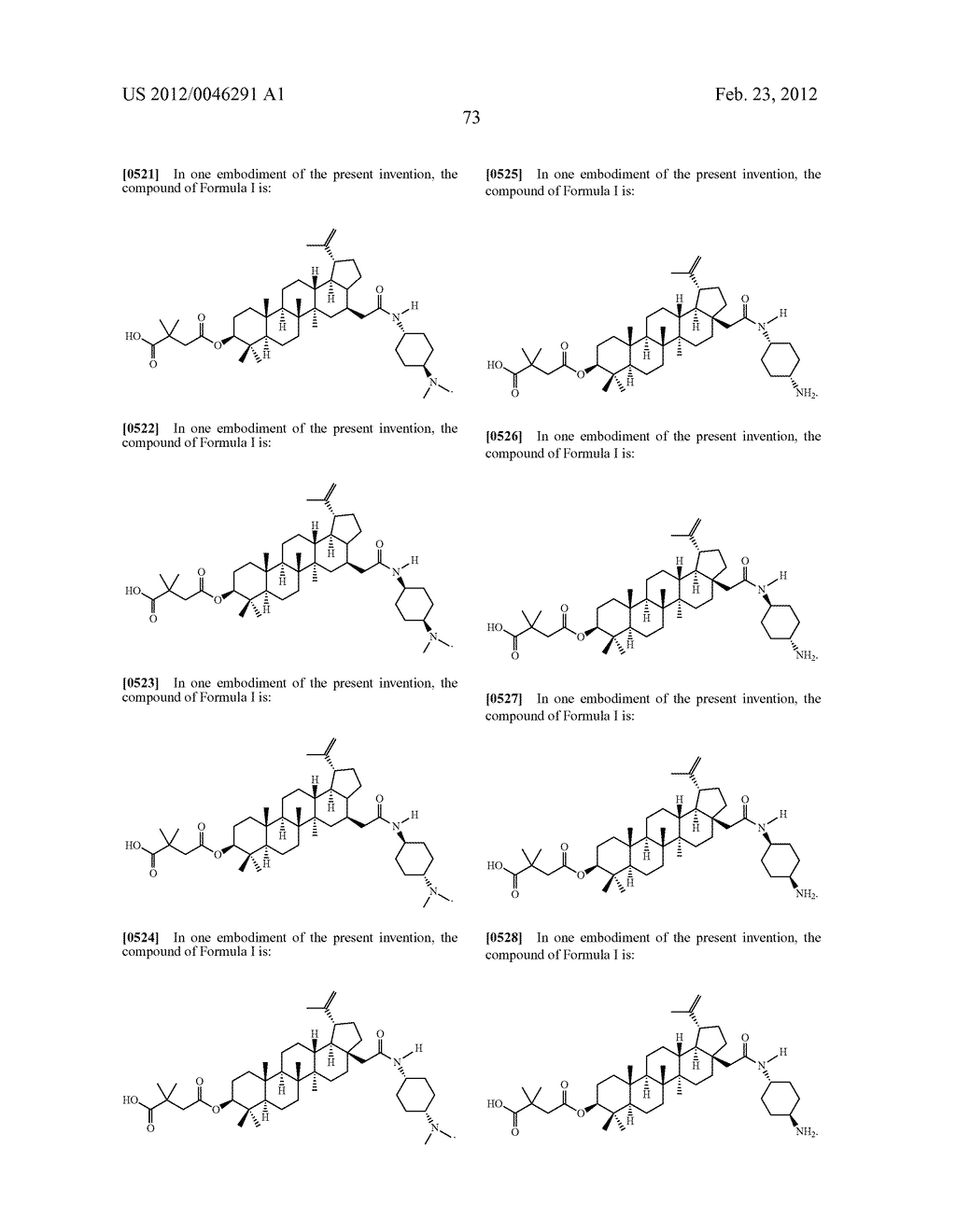 Extended Triterpene Derivatives - diagram, schematic, and image 75